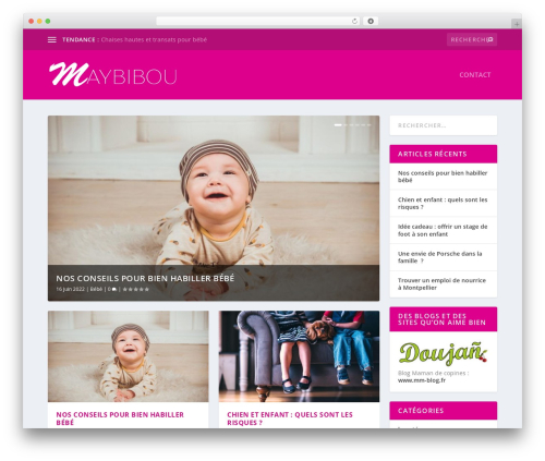 WordPress visual-columns plugin - maybibou.fr