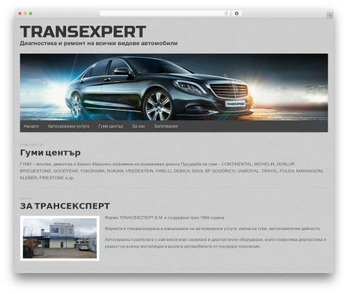 Gridiculous best free WordPress theme - transexpert-bg.com
