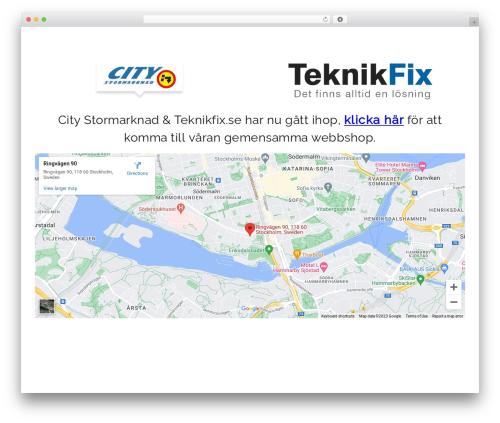 Opus - Wordpress Theme WordPress theme - citystormarknad.se