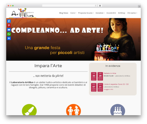 Pinnacle free website theme - laboratorioartibus.it