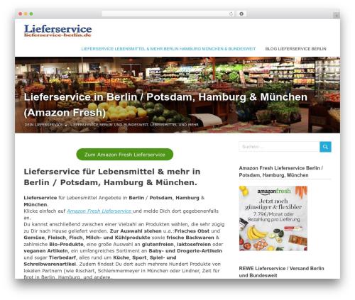Poseidon WordPress template - lieferservice-berlin.de