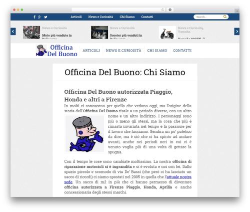 Theme WordPress ClesarMedia - officinadelbuono.net