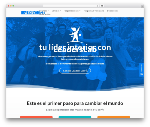 Free WordPress Live Chat with Facebook Messenger plugin - aieseccolombia.org