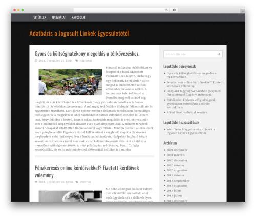 TruePixel by MyThemeShop WordPress shopping theme - aje.hu