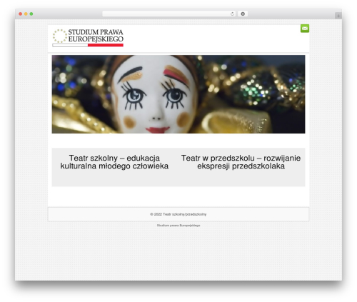 WordPress theme Sofix - teatrszkolny.pl