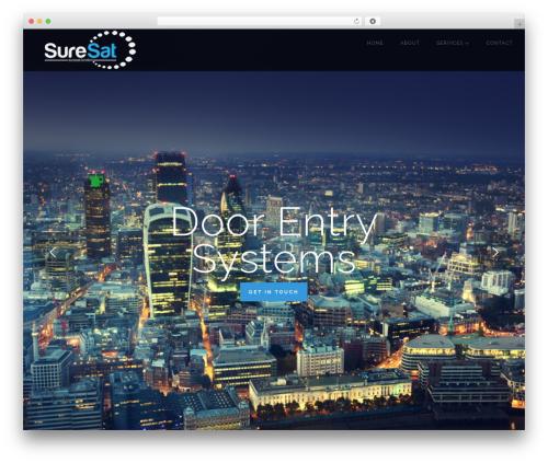 WP theme LARX - suresat.london