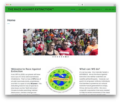 Best WordPress template Integral - theraceagainstextinction.org