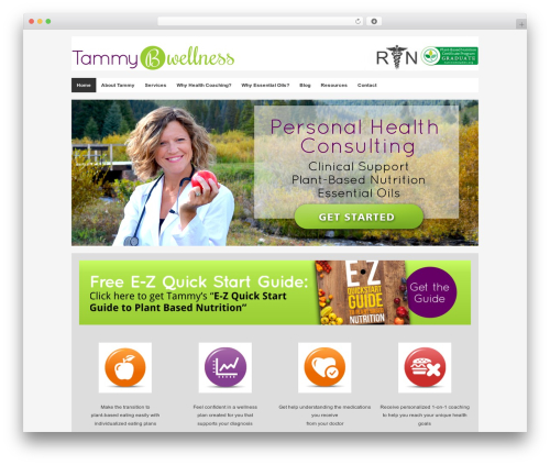 Builder best WordPress theme - tammybwellness.com