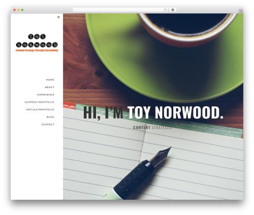 Euforia WordPress theme - toynorwood.com
