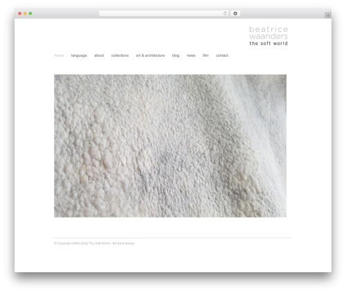 Fresh And Clean WordPress template - thesoftworld.com