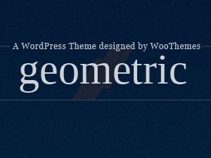 Geometric (Provided by Zazavy.com) WordPress theme design