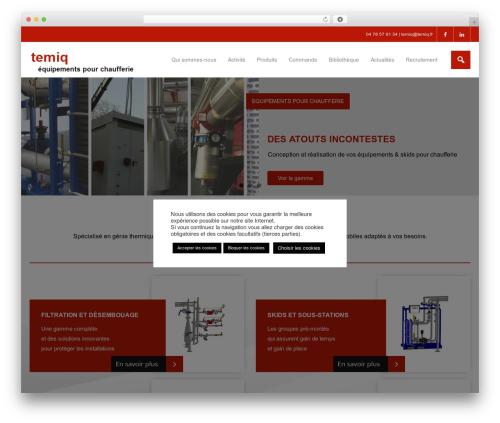 Harest free WordPress theme - temiq.fr