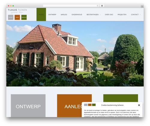 Kapital top WordPress theme - tijhuis-tuinen.nl