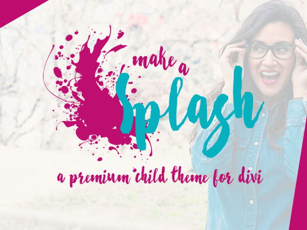Make a Splash WordPress theme