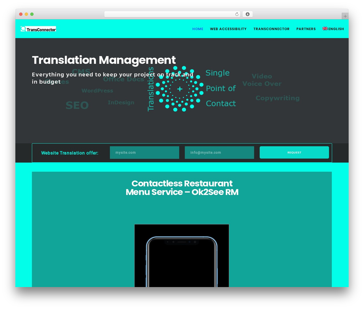 Movedo top WordPress theme - transconnector.com