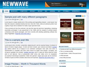 New Wave theme WordPress