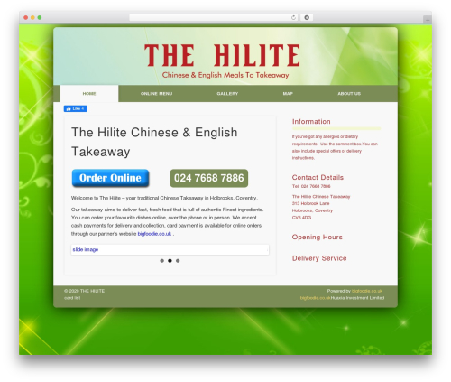Pinboard-RES template WordPress - thehilite.co.uk