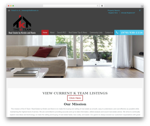RealHomes Theme WordPress theme design - thekteam.us