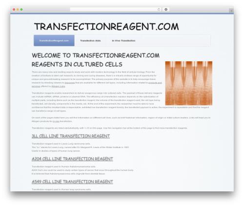 Template WordPress theme1626 - transfection-reagent.com