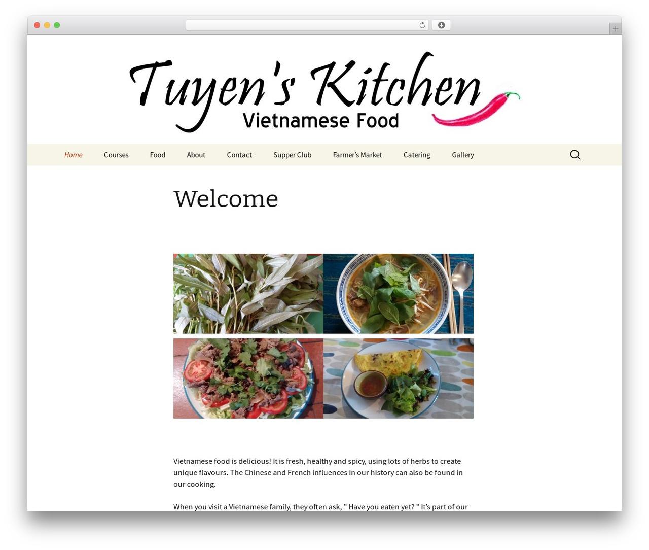 Twenty Thirteen theme free download - tuyenskitchen.com