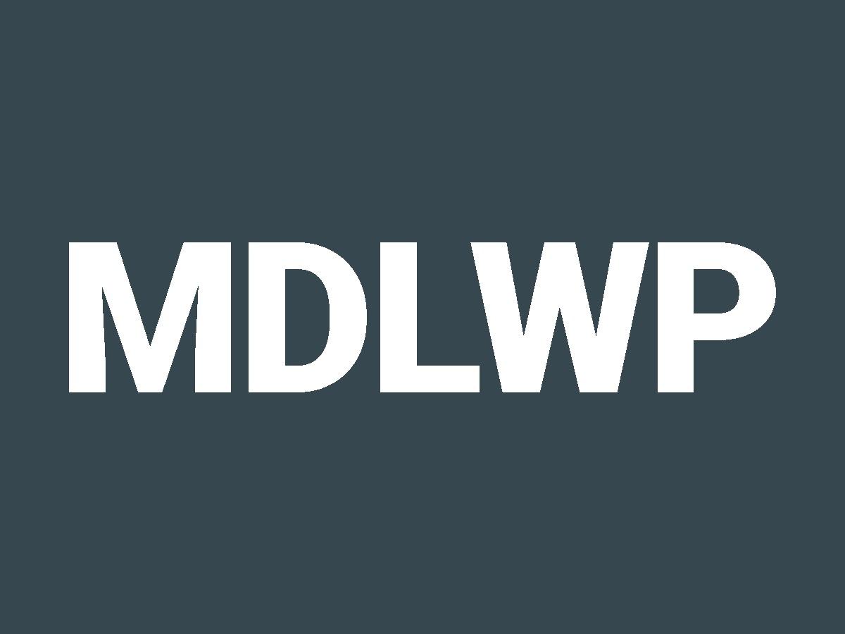 WordPress template MDLWP