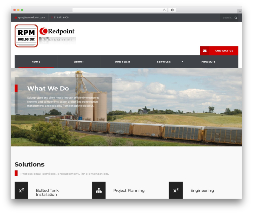 WordPress theme Redpoint LLC - teamredpoint.com