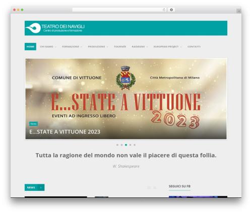 WP theme Entrance - teatrodeinavigli.com