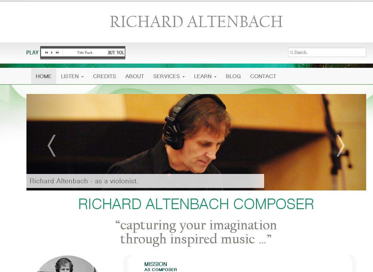 WP theme Richard