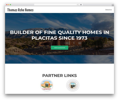 Zerif Lite theme free download - thomasashehomes.com