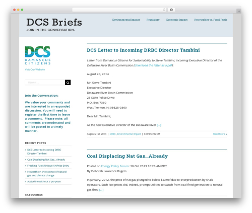 Best WordPress template Avada - dcsbriefs.org