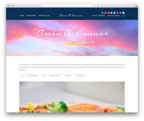 Divi WordPress theme - owenoconnorprovidence.com
