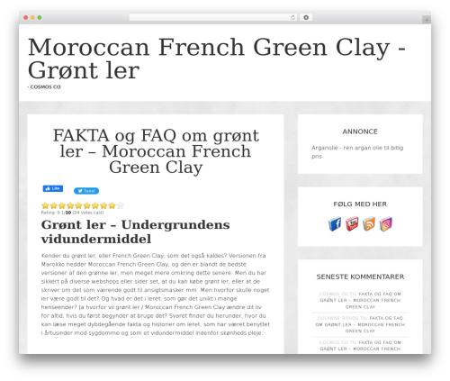 jane top WordPress theme - french-green-clay.dk