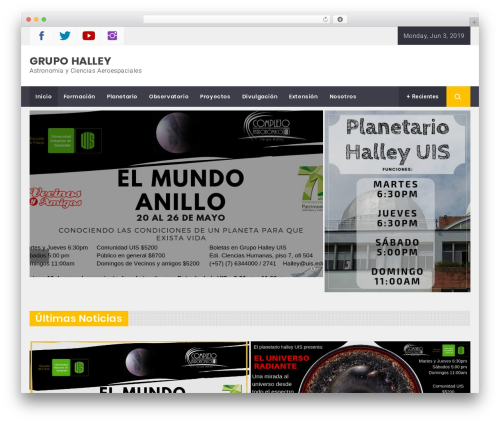 Magazine Prime template WordPress free - halley.uis.edu.co