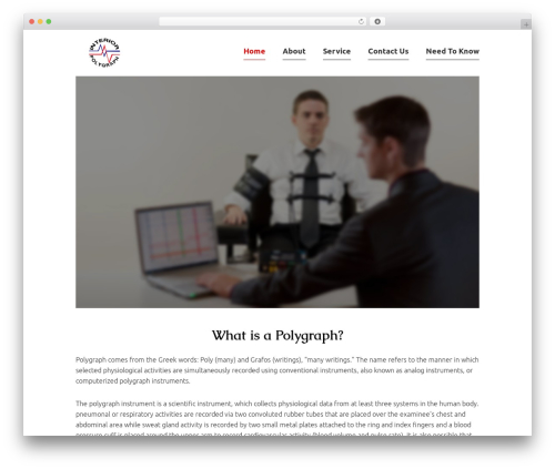 Theme WordPress Orao - interiorpolygraph.ca