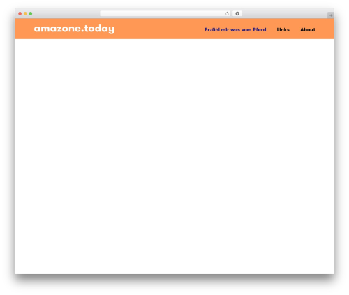 WordPress theme Hi-Response 1.3.1 - amazone.today