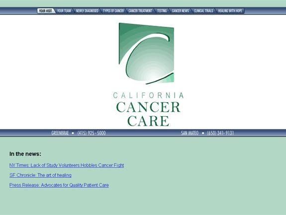 CalCancerCare best WordPress theme