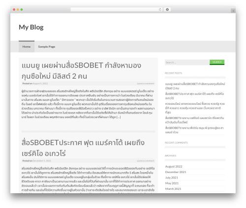 Coller template WordPress free - zmanim.info