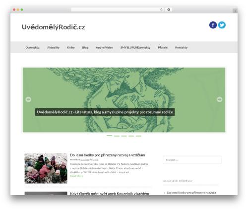 Coller theme WordPress free - uvedomelyrodic.cz