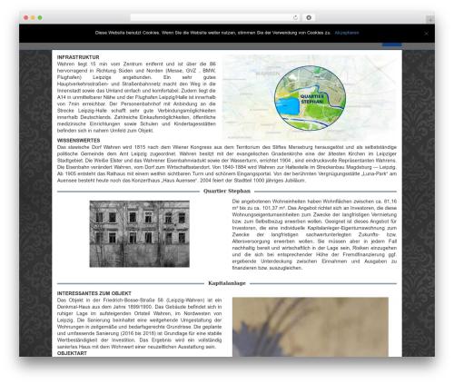 Crossway WordPress theme design - lewo.investments