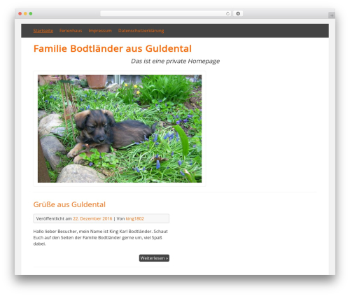 DarkOrange WordPress free download - bodtlaender.net