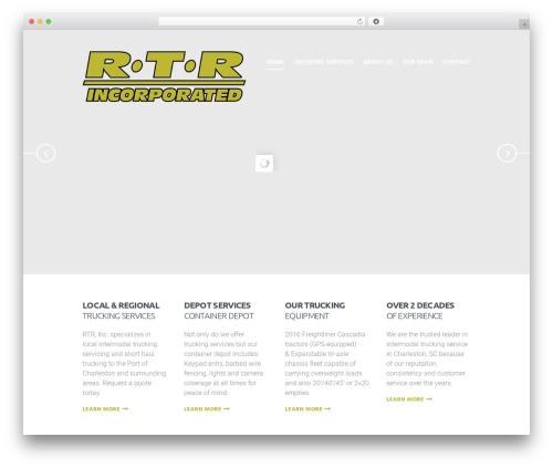 Global Logistics business WordPress theme - rtrinc.net