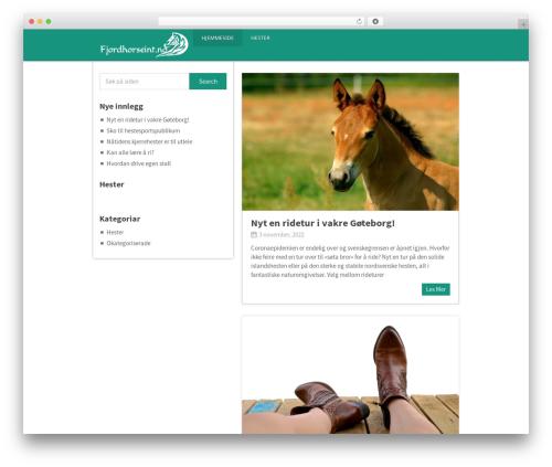 Pinstagram by MyThemeShop WordPress ecommerce theme - fjordhorseint.no
