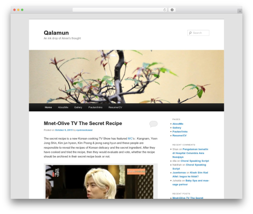 Twenty Eleven WordPress theme free download - qalamun.net