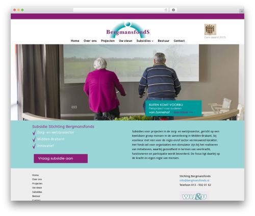 Versatile premium WordPress theme - bergmansfonds.nl