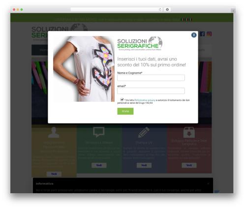 WordPress template Unity - soluzioniserigrafiche.it
