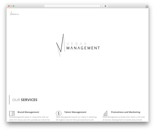 Wp Haswell WP theme - veraxmanagement.com