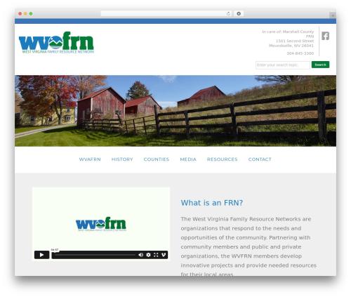 Blox Theme WordPress theme - wvfrn.org