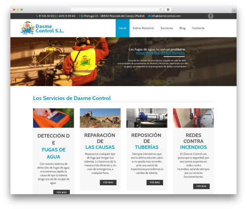 Bridge WordPress theme - dasmecontrol.com