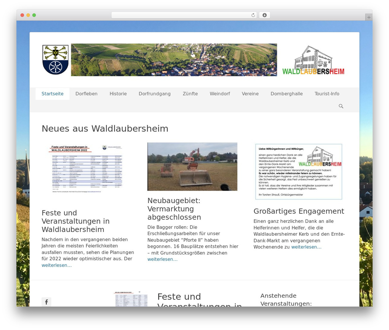 Catch Base Pro WordPress theme - waldlaubersheim.de