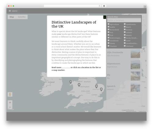 Coherent WordPress theme - distinctivelandscapes.org